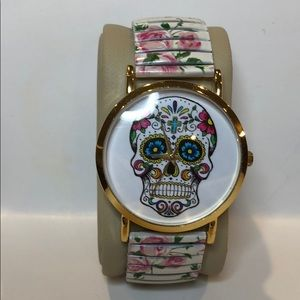 Geneva skull watch • Stainless steel back